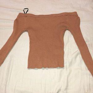 Forever 21 long sleeve crop top